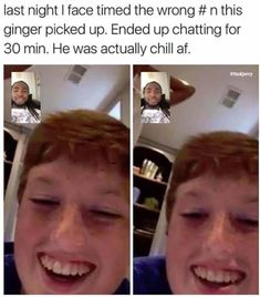 Guy Accidentally FaceTimed A Random Kid And They Became Real Friends Their newfound friendship was even picked up by popular social media accounts like and Worldstar Hip Hop. Stupid Funny Memes, Funny Relatable Memes, Funny Posts, Funny Stuff, Funny Humour, True Memes, Funny Gifs, Funny Tweets, Funny Things