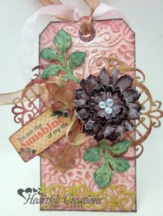 "CENTER ""FILIGREE"" IS TWO PIECES CUT OUT AND LAID DOWN.   TUTO.................................Majestic Sunshine Tag"