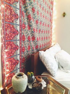 Small space inspo from UO Employee Spaces.