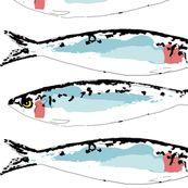 Sardines_Graphic - squidinkdesigns - Spoonflower