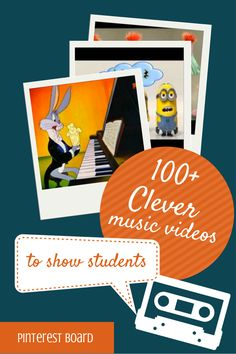 Music classroom - Clever Music Videos To Show Students – Music classroom Preschool Music, Music Activities, Music Lesson Plans, Music Lessons, Piano Lessons, Musica Love, Middle School Music, School Videos, Piano Teaching