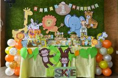 Posts about baby jungle party written by Sweets Delight Jungle Theme Birthday, Jungle Party, Safari Party, 1st Boy Birthday, 1st Birthday Parties, Jungle Fest, Mickey Baby Showers, Safari Decorations, Second Birthday Ideas