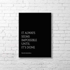 Print Art Inspirational Quote Instant Download It by AskPrintables