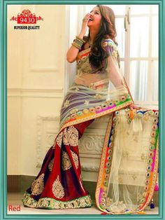 Beautiful Net & Georgette Bollywood saree online