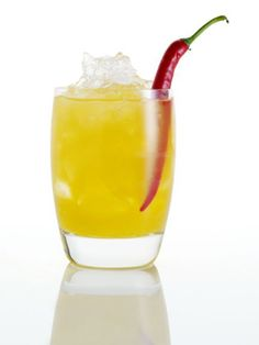 Girl on Fire cocktail, inspired by the Hunger Games!