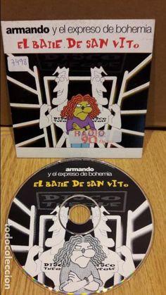 ARMANDO Y EL EXPRESO DE BOHEMIA. EL BAILE DE SAN VITO. CD SINGLE-PROMO / ENVÍO INCLUIDO