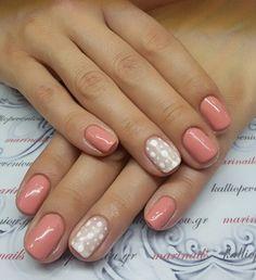 #nails #nailart #peachnails 🍑 #beautymakesyouhappy