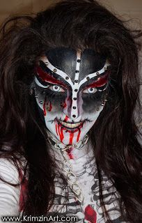 Scars & Spikes Halloween Makeup with VIDEO TUTORIAL