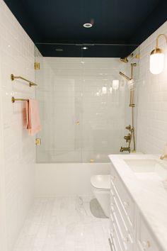 Toronto Discovers Surprise Third Floor In Their 750k Home And Create Stunning Spa Bathroom