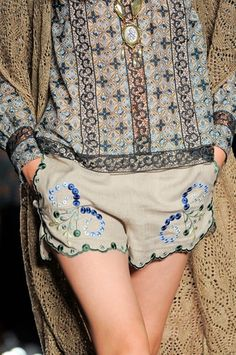 Anna Sui at New York Fashion Week Spring 2014 rtw