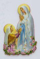 Magnet-Pin Madonna Lourdes Bernadette x cm Blessed, Christen, Madonna, Magnets, Disney Characters, Fictional Characters, Aurora Sleeping Beauty, Disney Princess, Colour