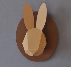 ... au pays des lapins | Les lapins en papier de Chloe Fleury