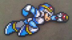Megaman X Perler Bead Sprite. $12.00, via Etsy.