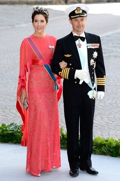 The Danish royals - Princess Mary of Denmark and Crown Prince Frederik of Denmark
