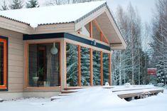 Проект одноэтажного дома из клееного бруса Ajari 163 м²