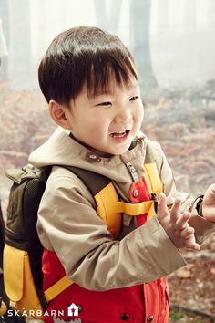 """Superman Returns"" Song Triplets Are Handsome Campers in New Stills for Outdoor Clothing Brand Asian Kids, Asian Babies, Cute Kids, Cute Babies, Song Il Gook, Outdoor Clothing Brands, Triplet Babies, Superman Kids, Song Triplets"