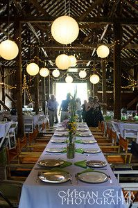Interior of Bliss Ridge barn at dinner. I like the idea of having the bridal party sit in the middle at a long table, and everyone else sitting at round tables. Wedding Pennant, Next Wedding, Wedding Stuff, August Themes, Destination Wedding, Wedding Venues, Barn Parties, Utah Wedding Photographers, Best Day Ever