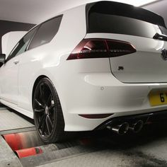Wrapped spoiler My Dream Car, Dream Cars, Gti Mk7, Vw, Golf, Vehicles, Dreams, Rolling Stock, Vehicle