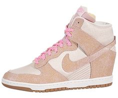 best sneakers dcedf 7a9c9 Nike Womens Dunk Sky High VNTG - Desert Sand  Polarized Pink-Sail «  Sneaker Dr. The Store Sneaker Dr. The Store
