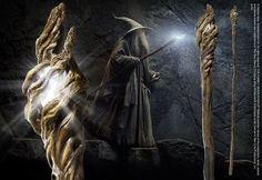 Bastón luminoso de Gandalf - OFICIAL - The Lords of the Rings - Rakuten.es  Bastón luminoso de Gandalf - OFICIAL - The Lords of the Rings: MER-93 de Tierra Pagana | Compra en línea en Rakuten España