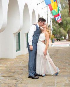 El Paseo Santa Barbara wedding Elizabeth Victoria Photography