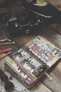 Do you keep a travel journal? Get inspired!