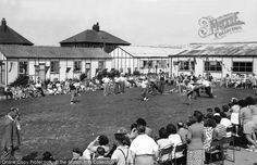 Photo of Sports Day At The Holiday Camp Part of The Francis Frith Collection, free to browse online. Come and visit - your nostalgic journey has just begun! Camping Uk, Camping Spots, Family Camping, Camping Hacks, Outdoor Camping, Butlins, Nostalgic Images, British Summer, Family Images