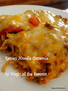 ramen noodles...AND? on Pinterest | Ramen, Ramen noodle recipes and ...