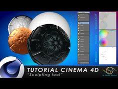 "▶ TUTORIAL CINEMA 4D ""Sculpting tools"" - YouTube"
