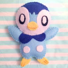 Piplup - Mini Pokemon Plush by AmyRosefan4eva.deviantart.com on @DeviantArt