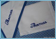 Mantel individual y servilleta escolar