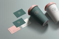 Coffee Shop Branding, Coffee Shop Logo, Cafe Branding, Coffee Store, Branding Agency, Food Graphic Design, Design Café, Logo Café, Cafe Logos