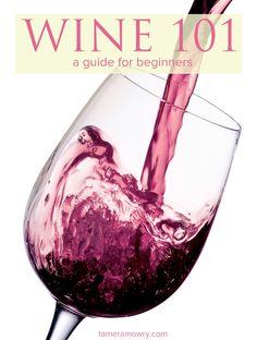 beginners guide to wine #WinePairing