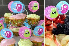 The Iowa Farmer's Wife: {Sweet P's} Monster Birthday Party. Stinkin cute!