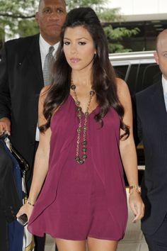 Kourtney Kardashian-Like her dress
