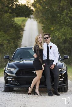 Homecoming, Couple, Car - Hairstyles For All Homecoming Poses, Homecoming Pictures, Prom Poses, Homecoming Dresses, Car Poses, Senior Prom, Prom Pictures Couples, Prom Couples, Couple Photoshoot Poses
