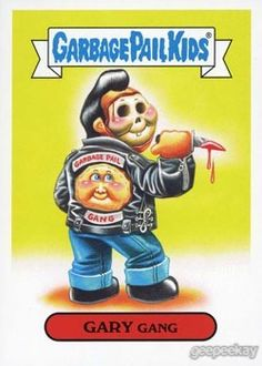 GEEPEEKAY - Garbage Pail Kids American As Apple Pie In Your Face Americana Swept Under The Rug