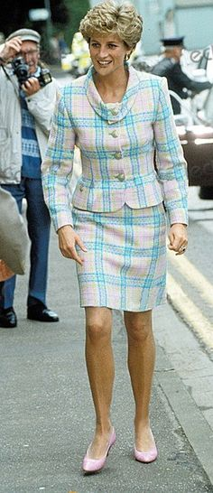 May 10, 1993 - Princess Diana at the Great Ormond Street Children's Hospital, London