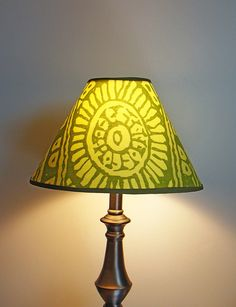 Marimekko Dombra Lamp Shade 4 x 7 x 11 by FinnFabDesigns on Etsy. $59.90 USD, via Etsy. and one of these too.
