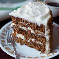 Spiced Carrot Layer Cake Recipe