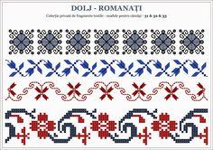 Semne Cusute: Romanian traditional motifs - OLTENIA, Dolj - Roma...