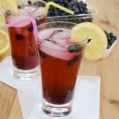 Blueberry Lemonade from Sweet Pea's Kitchen