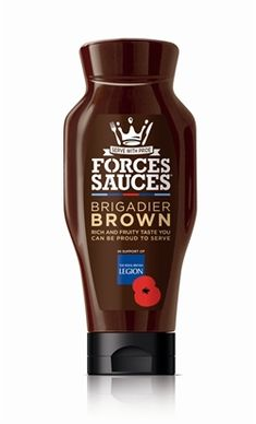 Forces Sauces Brigadier Brown 500ml.  Made in the UK