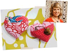 Get inspired with these fun Valentine's Day Projects! Visit the Craftsy Blog to read more about what the Craftsy instructors have made for this festive day! Click: http://www.craftsy.com/ext/20130207_14_General_1b