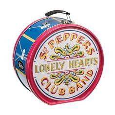 The Beatles: Sgt Pepper's Drum Shaped Tin Tote #Vandor