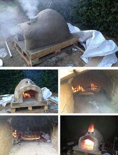 DIY Pallet Outdoor Pizza Oven | 99 Pallets