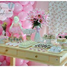 Uma festa com o tema que encanta as Mamães de Meninas!!! Clique aqui e veja a festinha completa e solicitem seus pedidos de orçamento para a Sky Festas / Idealizando Sonhos aqui neste link: http://www.mamaeeukero.com.br/posts/sky-festas