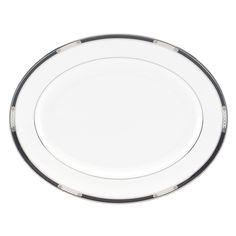 Lenox 'Hancock Platinum ' 13-inch Oval Platter