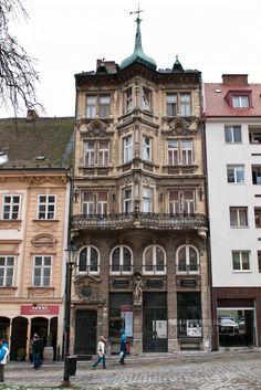 Pharmacy Salvator in the Panská street Bratislava, Beautiful Places, Multi Story Building, Street View, Europe, Pharmacy, Maps, Google, Architecture