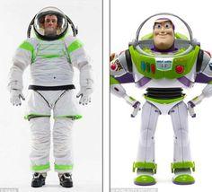 Los nuevos trajes de la NASA ¡son idénticos  a Buzz Lightyear!